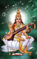 Saraswathi Mobile Wallpaper