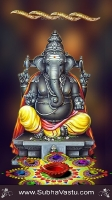 Ganesha Mobile Wallpapers_1366