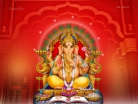4096X3072 Ganesha Wallpaper_541